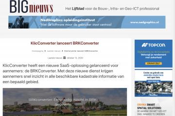 BRKConverter op BIGnieuws.nl