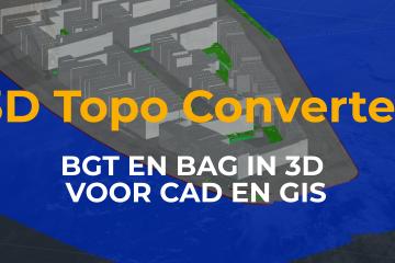 3D Topo Converter lancering