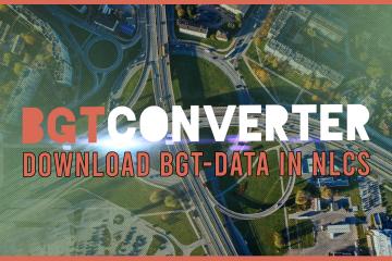 BGTConverter download BGT-data als CAD-bestand in NLCS