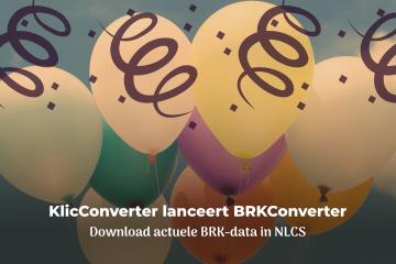Lancering BRKConverter - KlicConverter